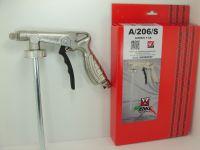 ANI stříkací pistole na spodky A/206/S nastavitelná tryska