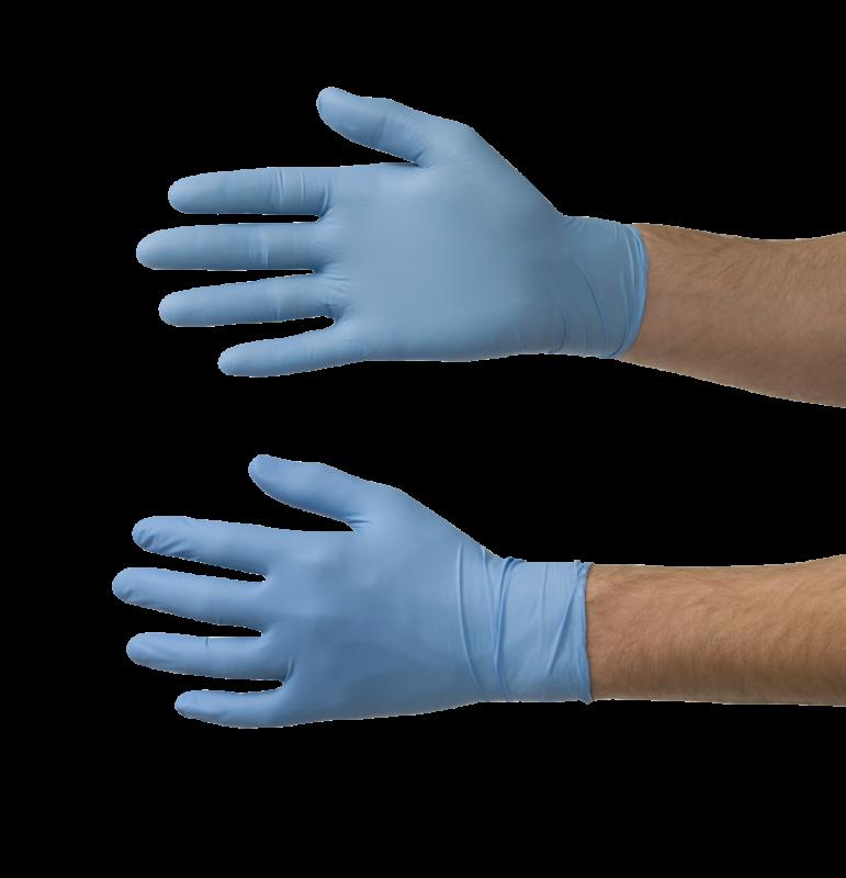 COLAD nitrilové rukavice balení 100 ks