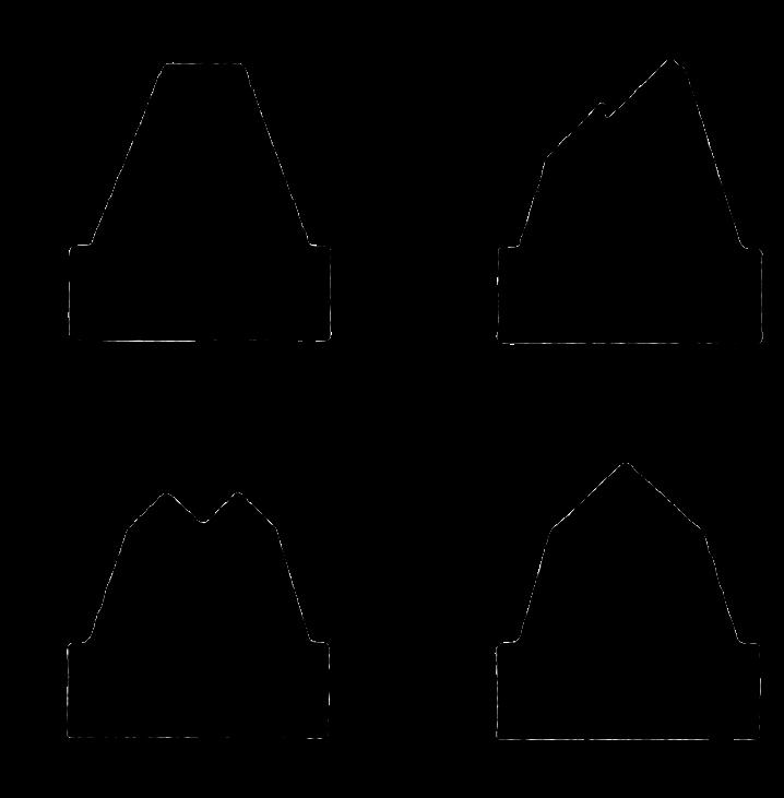 COLAD sada tvarovaných trysek pro AirTec 4 ks