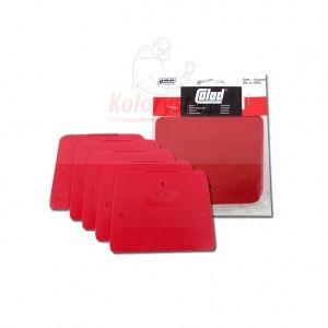 COLAD stěrky sudetské červené sada 5 ks