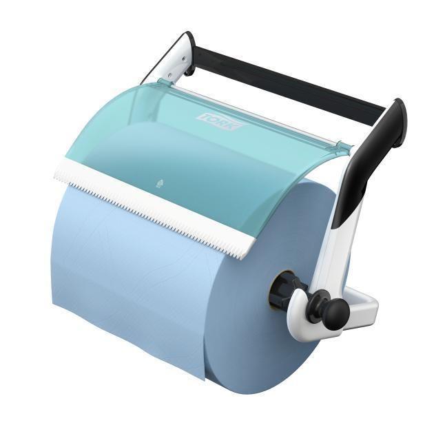 TORK W1 držák utěrek na stěnu modro-bílý
