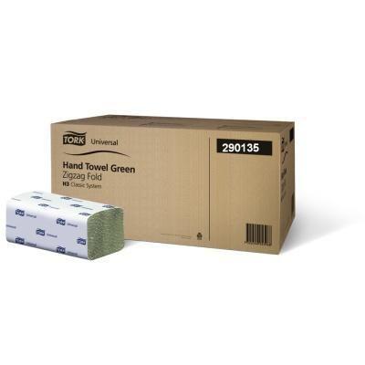 ZZ zelené jednovrstvé H3 4.000 ks TORK